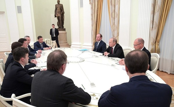 leaders around a table